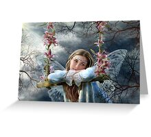 Sad fairy Greeting Card