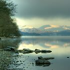 Coniston Morning Mist by Jamie  Green