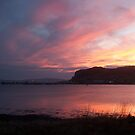 Uig Bay at Sunset, Isle of Skye by Louise Norman