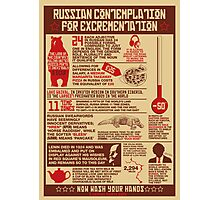 Russian Contemplation for Excrementation Photographic Print