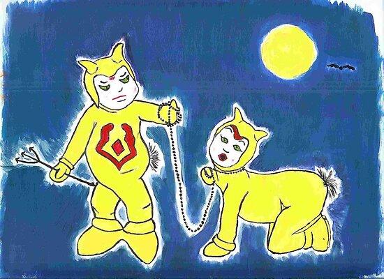 little devil children by MonsterRob
