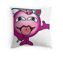 Candy Ball Throw Pillow