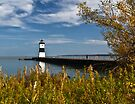 Lighthouse On the Pier by Kathy Weaver