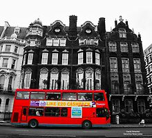 Red Bus at London by dprimente