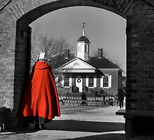 Red Coat by Mark Van Scyoc
