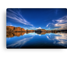 Off The Dock Canvas Print