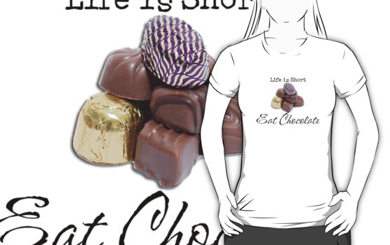 Eat Chocolate by Barb Leopold