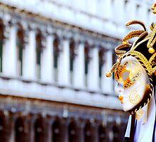Venetian Mask  in Piazza San Marco by HappyMoonlight