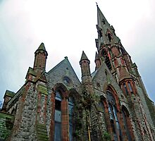 Authentic Cathedral Church of Belfast-Northern Ireland by Ferdinand Lucino