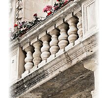 A Lover's Balcony by William Attard McCarthy