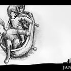 January 4th - The Bathtub by 365 Notepads -  School of Faces