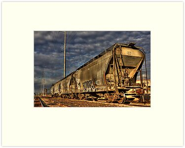 Train of Gold by Sue  Cullumber