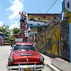 Chevy, Callejon de Hamel, Havana, Cuba by apricotargante