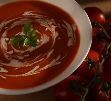 Food shot  - Tomato soup by EllePhotography