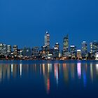 Perth Skyline by Andrew Pollard