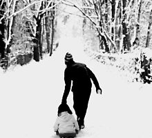 Snow fun by Debbie Ashe