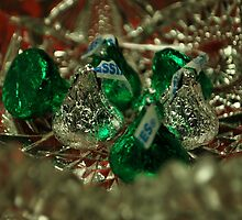 Silver and Green Kisses!  by Jeff Stroud