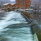 Winter at Hirst Mill. by elmik5