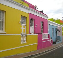 Color on the Street - Cape Town, South Africa by Ginelle Colombo
