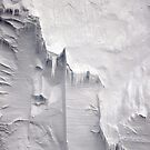 Filigree on Iceberg - Eastern Antarctica by Phemie