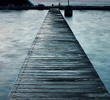 Newcastle Baths Boardwalk, NSW Australia by thorpey