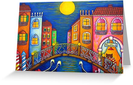 Moonlit Venice by LisaLorenz