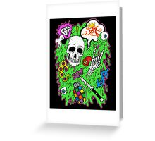 Bonebarf Greeting Card