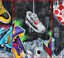 Sneakers. Bondi graffiti by andreisky