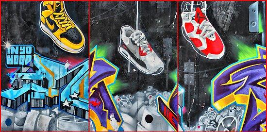 Sneakers. Bondi graffiti by andreisky