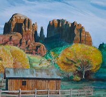 Cathedral Rock, Sedona AZ by ArtGecko