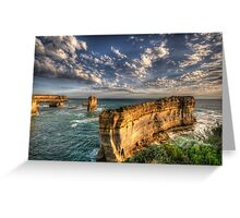 Grandeur - Razorback - Great Ocean Road - The HDR Experience Greeting Card