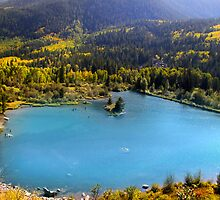 Mountain Lake by snehit