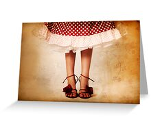 In my mother's shoes Greeting Card