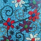 flower amongst broken tiles   by AshleighS