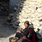 Ladies of Lo Mantang, Upper Mustang, Nepal by photoartindia