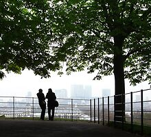 London Docklands from Greenwich by clivester