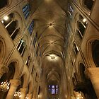 Notre Dame Cathedral, Paris by wichwetyl