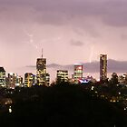 Lit Up - Brisbane CBD, Queensland by SunnieGal