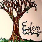 Garden of Eden Drawing by BeccaAlysse
