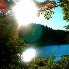 Sunspot at Lake Minnewaska by BeccaAlysse