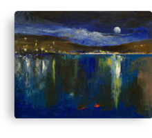 Blue Nocturne Canvas Print
