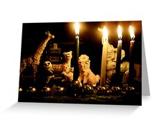 Happy Chanukah from the Wild Ones Greeting Card