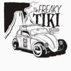 The freaky tiki volksrod by Jake Harvey
