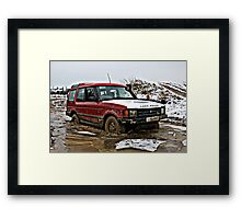 Landrover Discovery Framed Print