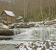 Icy Falls by Orland Allen