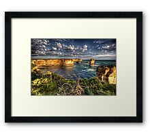 Shipwreck Coast  - Twelve Apostles, Great Ocean Road - The HDR Experience Framed Print