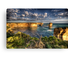 Shipwreck Coast  - Twelve Apostles, Great Ocean Road - The HDR Experience Canvas Print
