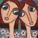 A Sisters love by Barbara Cannon  ART.. AKA Barbieville