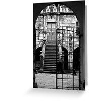Castle Gates Greeting Card