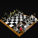 LEGO Chess Set - Samurai vs Knights 2 by geekmorris